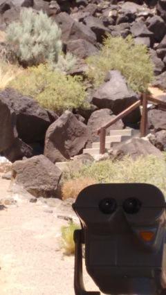 rocks petroglyph