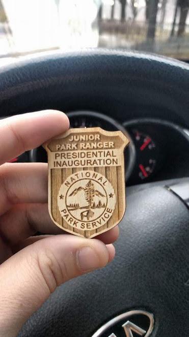 inauguration badge