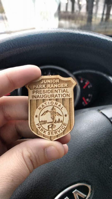 inauguration badge