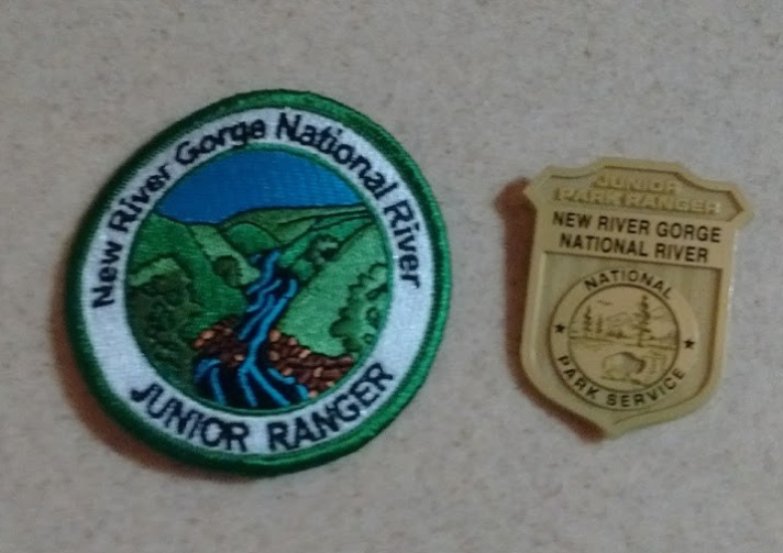 new river badges
