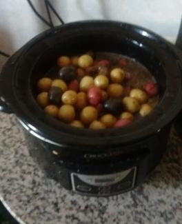 mini potatoes