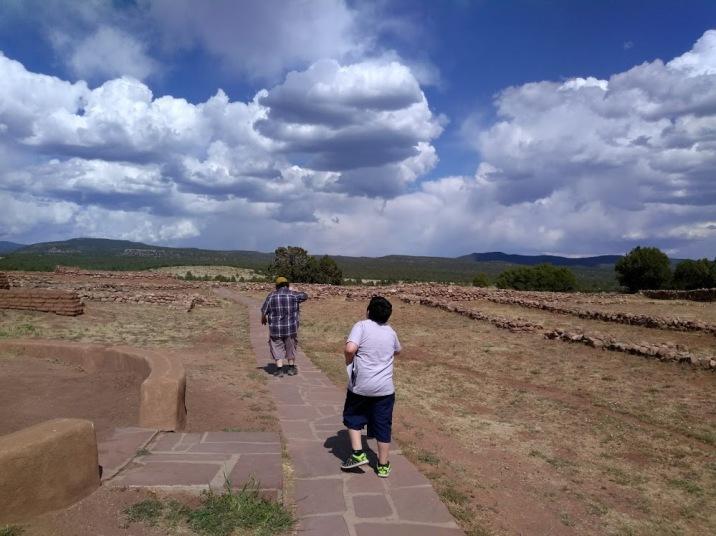 Pecos Trails & Clouds