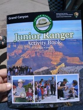 grandcanyon jr ranger