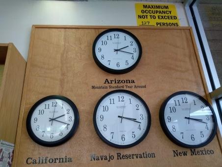 petrified forest clocks